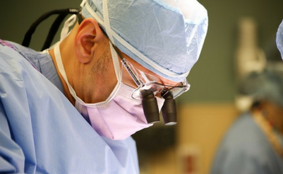 Dr. Sinicropi in Surgery